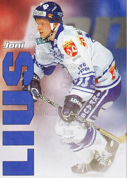 1998-99 Finnish Cardset Leijonat #31 Joni Lius<br/>7 In Stock - $3.00 each - <a href=https://centericecollectibles.foxycart.com/cart?name=1998-99%20Finnish%20Cardset%20Leijonat%20%2331%20Joni%20Lius...&quantity_max=7&price=$3.00&code=67940 class=foxycart> Buy it now! </a>
