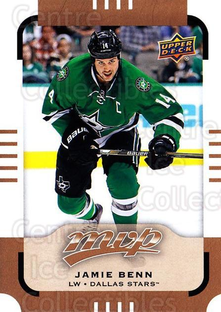 2015-16 Upper Deck MVP #99 Jamie Benn<br/>12 In Stock - $1.00 each - <a href=https://centericecollectibles.foxycart.com/cart?name=2015-16%20Upper%20Deck%20MVP%20%2399%20Jamie%20Benn...&quantity_max=12&price=$1.00&code=679434 class=foxycart> Buy it now! </a>