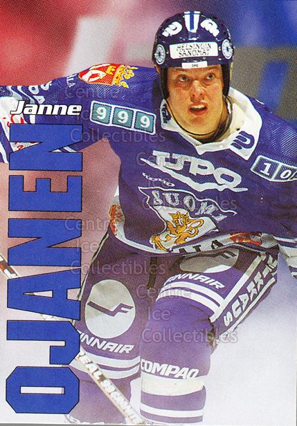 1998-99 Finnish Cardset Leijonat #34 Janne Ojanen<br/>6 In Stock - $3.00 each - <a href=https://centericecollectibles.foxycart.com/cart?name=1998-99%20Finnish%20Cardset%20Leijonat%20%2334%20Janne%20Ojanen...&quantity_max=6&price=$3.00&code=67943 class=foxycart> Buy it now! </a>