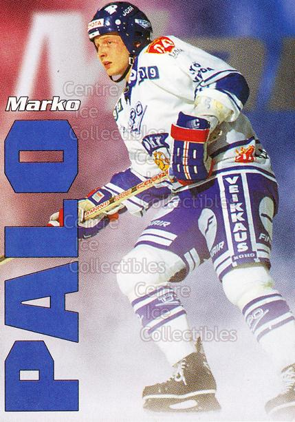 1998-99 Finnish Cardset Leijonat #35 Marko Palo<br/>7 In Stock - $3.00 each - <a href=https://centericecollectibles.foxycart.com/cart?name=1998-99%20Finnish%20Cardset%20Leijonat%20%2335%20Marko%20Palo...&quantity_max=7&price=$3.00&code=67944 class=foxycart> Buy it now! </a>