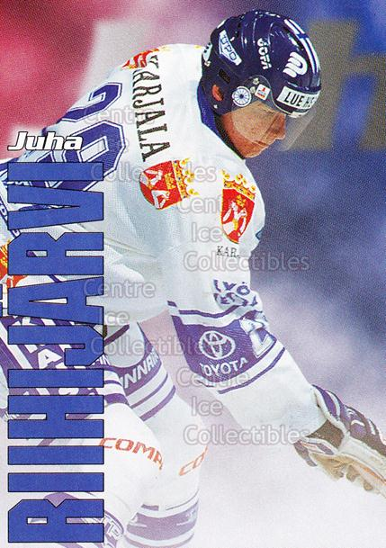 1998-99 Finnish Cardset Leijonat #37 Juha Riihijarvi<br/>6 In Stock - $3.00 each - <a href=https://centericecollectibles.foxycart.com/cart?name=1998-99%20Finnish%20Cardset%20Leijonat%20%2337%20Juha%20Riihijarvi...&quantity_max=6&price=$3.00&code=67945 class=foxycart> Buy it now! </a>
