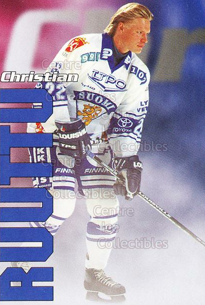 1998-99 Finnish Cardset Leijonat #39 Christian Ruuttu<br/>7 In Stock - $3.00 each - <a href=https://centericecollectibles.foxycart.com/cart?name=1998-99%20Finnish%20Cardset%20Leijonat%20%2339%20Christian%20Ruutt...&quantity_max=7&price=$3.00&code=67947 class=foxycart> Buy it now! </a>