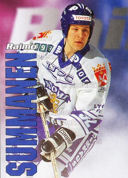 1998-99 Finnish Cardset Leijonat #42 Raimo Summanen<br/>5 In Stock - $3.00 each - <a href=https://centericecollectibles.foxycart.com/cart?name=1998-99%20Finnish%20Cardset%20Leijonat%20%2342%20Raimo%20Summanen...&quantity_max=5&price=$3.00&code=67951 class=foxycart> Buy it now! </a>