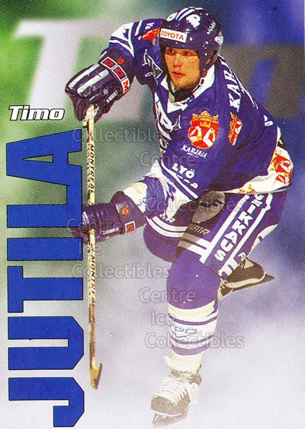 1998-99 Finnish Cardset Leijonat #6 Timo Jutila<br/>6 In Stock - $3.00 each - <a href=https://centericecollectibles.foxycart.com/cart?name=1998-99%20Finnish%20Cardset%20Leijonat%20%236%20Timo%20Jutila...&quantity_max=6&price=$3.00&code=67958 class=foxycart> Buy it now! </a>