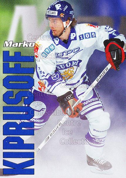 1998-99 Finnish Cardset Leijonat #8 Marko Kiprusoff<br/>5 In Stock - $3.00 each - <a href=https://centericecollectibles.foxycart.com/cart?name=1998-99%20Finnish%20Cardset%20Leijonat%20%238%20Marko%20Kiprusoff...&quantity_max=5&price=$3.00&code=67960 class=foxycart> Buy it now! </a>