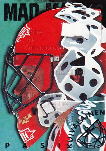 1998-99 Finnish Cardset Mad Masks #12 Pasi Kuivalainen<br/>5 In Stock - $3.00 each - <a href=https://centericecollectibles.foxycart.com/cart?name=1998-99%20Finnish%20Cardset%20Mad%20Masks%20%2312%20Pasi%20Kuivalaine...&price=$3.00&code=67964 class=foxycart> Buy it now! </a>