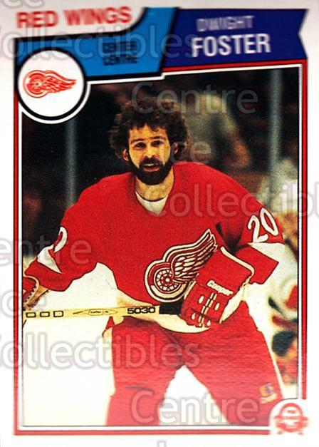 1983-84 O-Pee-Chee #122 Dwight Foster<br/>8 In Stock - $1.00 each - <a href=https://centericecollectibles.foxycart.com/cart?name=1983-84%20O-Pee-Chee%20%23122%20Dwight%20Foster...&quantity_max=8&price=$1.00&code=67 class=foxycart> Buy it now! </a>