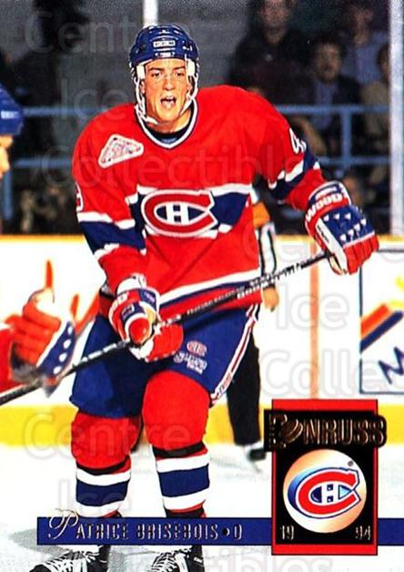 1993-94 Donruss #171 Patrice Brisebois<br/>5 In Stock - $1.00 each - <a href=https://centericecollectibles.foxycart.com/cart?name=1993-94%20Donruss%20%23171%20Patrice%20Brisebo...&quantity_max=5&price=$1.00&code=6801 class=foxycart> Buy it now! </a>