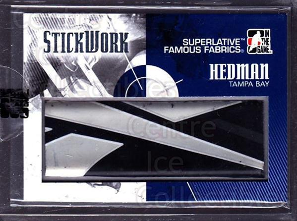 2009-10 ITG Superlative Stickwork #22 Victor Hedman<br/>1 In Stock - $30.00 each - <a href=https://centericecollectibles.foxycart.com/cart?name=2009-10%20ITG%20Superlative%20Stickwork%20%2322%20Victor%20Hedman...&quantity_max=1&price=$30.00&code=681961 class=foxycart> Buy it now! </a>