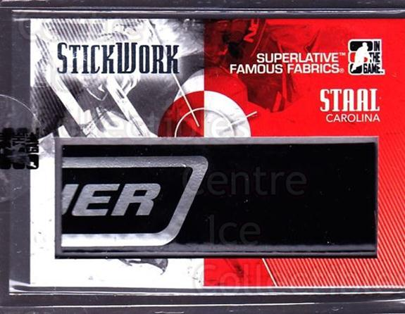 2009-10 ITG Superlative Stickwork #28 Eric Staal<br/>1 In Stock - $30.00 each - <a href=https://centericecollectibles.foxycart.com/cart?name=2009-10%20ITG%20Superlative%20Stickwork%20%2328%20Eric%20Staal...&quantity_max=1&price=$30.00&code=681967 class=foxycart> Buy it now! </a>