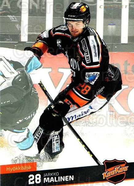 2016-17 Finnish Cardset #82 Jarkko Malinen<br/>8 In Stock - $2.00 each - <a href=https://centericecollectibles.foxycart.com/cart?name=2016-17%20Finnish%20Cardset%20%2382%20Jarkko%20Malinen...&quantity_max=8&price=$2.00&code=682051 class=foxycart> Buy it now! </a>