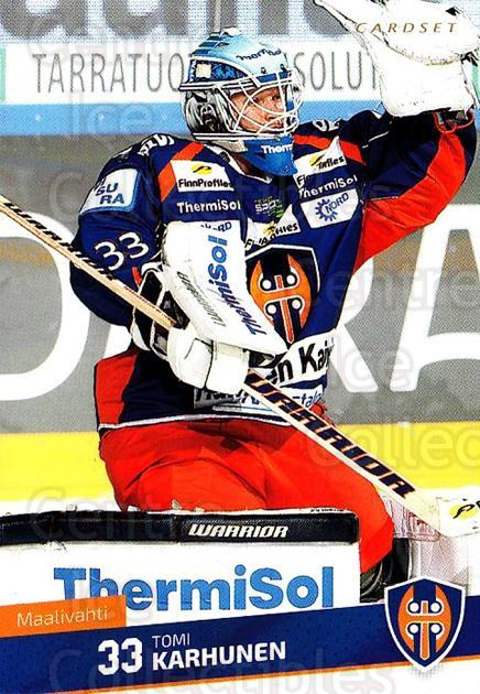 2016-17 Finnish Cardset #145 Tomi Karhunen<br/>4 In Stock - $2.00 each - <a href=https://centericecollectibles.foxycart.com/cart?name=2016-17%20Finnish%20Cardset%20%23145%20Tomi%20Karhunen...&quantity_max=4&price=$2.00&code=682114 class=foxycart> Buy it now! </a>
