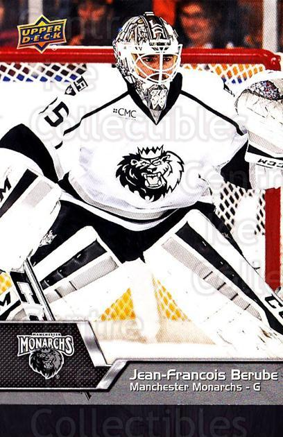 2014-15 Upper Deck AHL #50 Jean-Francois Berube<br/>2 In Stock - $1.00 each - <a href=https://centericecollectibles.foxycart.com/cart?name=2014-15%20Upper%20Deck%20AHL%20%2350%20Jean-Francois%20B...&quantity_max=2&price=$1.00&code=682199 class=foxycart> Buy it now! </a>