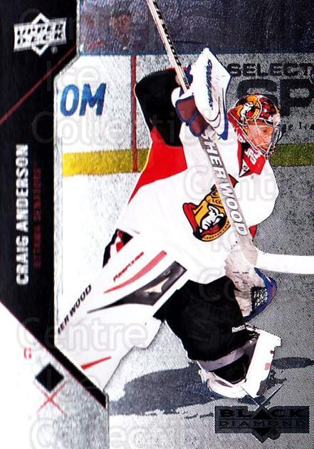 2011-12 Black Diamond #8 Craig Anderson<br/>3 In Stock - $1.00 each - <a href=https://centericecollectibles.foxycart.com/cart?name=2011-12%20Black%20Diamond%20%238%20Craig%20Anderson...&quantity_max=3&price=$1.00&code=682307 class=foxycart> Buy it now! </a>