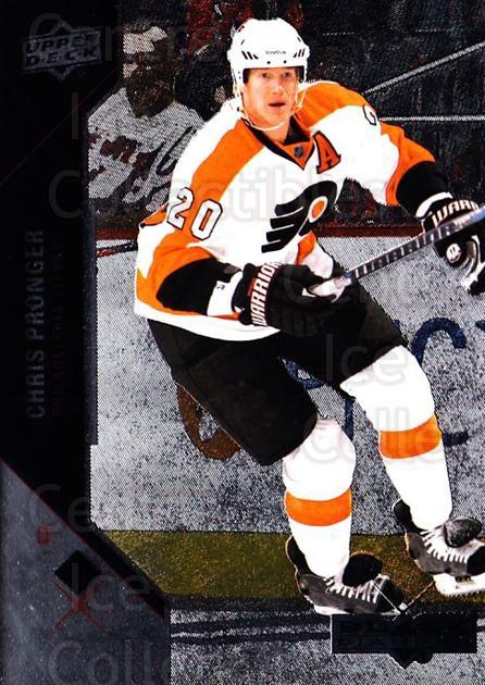 2011-12 Black Diamond #34 Chris Pronger<br/>5 In Stock - $1.00 each - <a href=https://centericecollectibles.foxycart.com/cart?name=2011-12%20Black%20Diamond%20%2334%20Chris%20Pronger...&quantity_max=5&price=$1.00&code=682333 class=foxycart> Buy it now! </a>