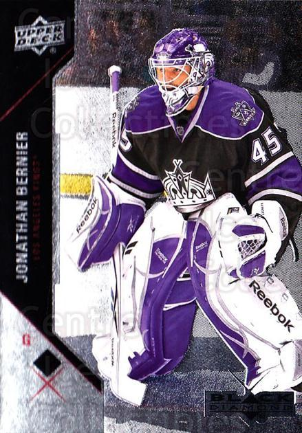 2011-12 Black Diamond #38 Jonathan Bernier<br/>5 In Stock - $1.00 each - <a href=https://centericecollectibles.foxycart.com/cart?name=2011-12%20Black%20Diamond%20%2338%20Jonathan%20Bernie...&quantity_max=5&price=$1.00&code=682337 class=foxycart> Buy it now! </a>
