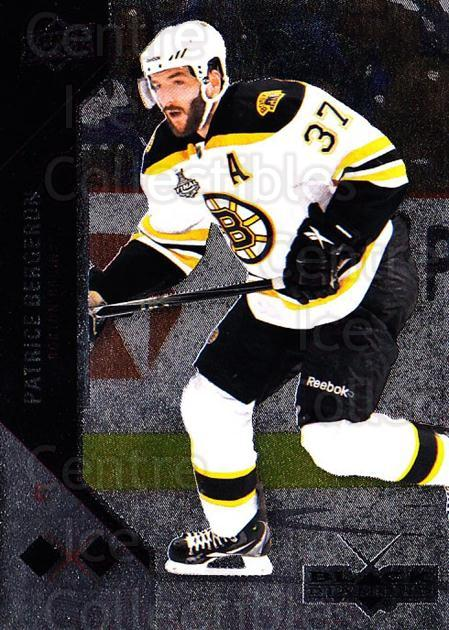 2011-12 Black Diamond #119 Patrice Bergeron<br/>2 In Stock - $2.00 each - <a href=https://centericecollectibles.foxycart.com/cart?name=2011-12%20Black%20Diamond%20%23119%20Patrice%20Bergero...&quantity_max=2&price=$2.00&code=682418 class=foxycart> Buy it now! </a>