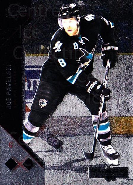 2011-12 Black Diamond #121 Joe Pavelski<br/>1 In Stock - $2.00 each - <a href=https://centericecollectibles.foxycart.com/cart?name=2011-12%20Black%20Diamond%20%23121%20Joe%20Pavelski...&quantity_max=1&price=$2.00&code=682420 class=foxycart> Buy it now! </a>