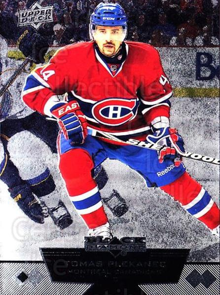 2012-13 Black Diamond #47 Tomas Plekanec<br/>3 In Stock - $1.00 each - <a href=https://centericecollectibles.foxycart.com/cart?name=2012-13%20Black%20Diamond%20%2347%20Tomas%20Plekanec...&quantity_max=3&price=$1.00&code=682596 class=foxycart> Buy it now! </a>