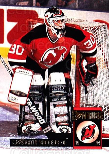 1993-94 Donruss #195 Martin Brodeur<br/>1 In Stock - $2.00 each - <a href=https://centericecollectibles.foxycart.com/cart?name=1993-94%20Donruss%20%23195%20Martin%20Brodeur...&price=$2.00&code=6826 class=foxycart> Buy it now! </a>