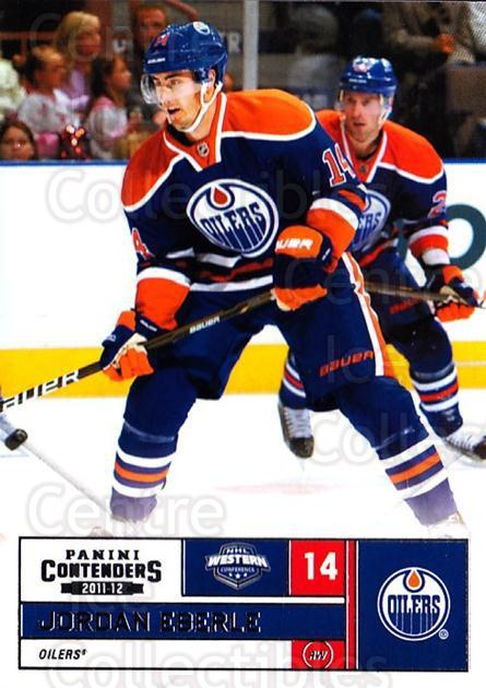 2011-12 Panini Contenders #14 Jordan Eberle<br/>4 In Stock - $1.00 each - <a href=https://centericecollectibles.foxycart.com/cart?name=2011-12%20Panini%20Contenders%20%2314%20Jordan%20Eberle...&quantity_max=4&price=$1.00&code=682813 class=foxycart> Buy it now! </a>