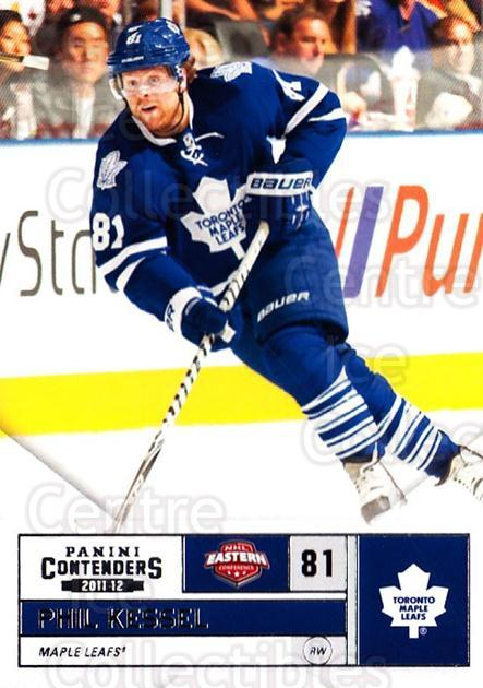 2011-12 Panini Contenders #81 Phil Kessel<br/>2 In Stock - $1.00 each - <a href=https://centericecollectibles.foxycart.com/cart?name=2011-12%20Panini%20Contenders%20%2381%20Phil%20Kessel...&quantity_max=2&price=$1.00&code=682880 class=foxycart> Buy it now! </a>