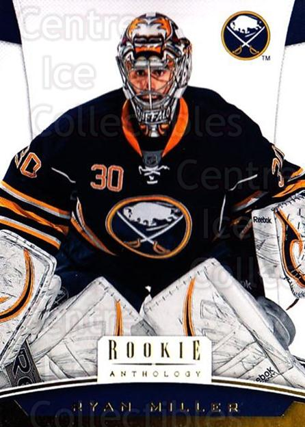 2012-13 Panini Rookie Anthology #25 Ryan Miller<br/>3 In Stock - $1.00 each - <a href=https://centericecollectibles.foxycart.com/cart?name=2012-13%20Panini%20Rookie%20Anthology%20%2325%20Ryan%20Miller...&quantity_max=3&price=$1.00&code=683107 class=foxycart> Buy it now! </a>