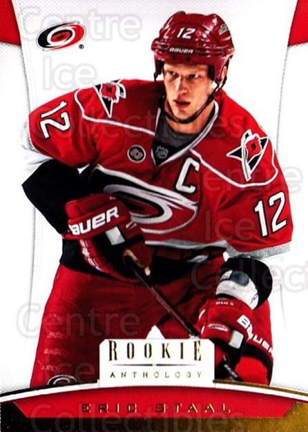 2012-13 Panini Rookie Anthology #29 Eric Staal<br/>4 In Stock - $1.00 each - <a href=https://centericecollectibles.foxycart.com/cart?name=2012-13%20Panini%20Rookie%20Anthology%20%2329%20Eric%20Staal...&quantity_max=4&price=$1.00&code=683111 class=foxycart> Buy it now! </a>