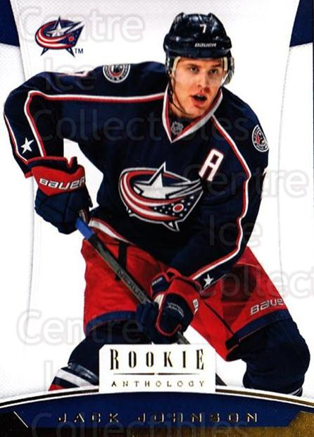 2012-13 Panini Rookie Anthology #35 Jack Johnson<br/>3 In Stock - $1.00 each - <a href=https://centericecollectibles.foxycart.com/cart?name=2012-13%20Panini%20Rookie%20Anthology%20%2335%20Jack%20Johnson...&quantity_max=3&price=$1.00&code=683117 class=foxycart> Buy it now! </a>