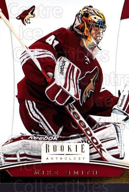 2012-13 Panini Rookie Anthology #38 Mike Smith<br/>3 In Stock - $1.00 each - <a href=https://centericecollectibles.foxycart.com/cart?name=2012-13%20Panini%20Rookie%20Anthology%20%2338%20Mike%20Smith...&quantity_max=3&price=$1.00&code=683120 class=foxycart> Buy it now! </a>