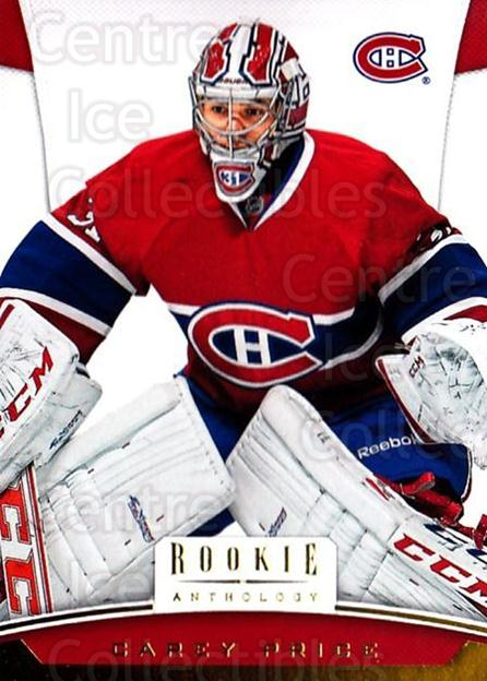 2012-13 Panini Rookie Anthology #49 Carey Price<br/>1 In Stock - $3.00 each - <a href=https://centericecollectibles.foxycart.com/cart?name=2012-13%20Panini%20Rookie%20Anthology%20%2349%20Carey%20Price...&quantity_max=1&price=$3.00&code=683131 class=foxycart> Buy it now! </a>