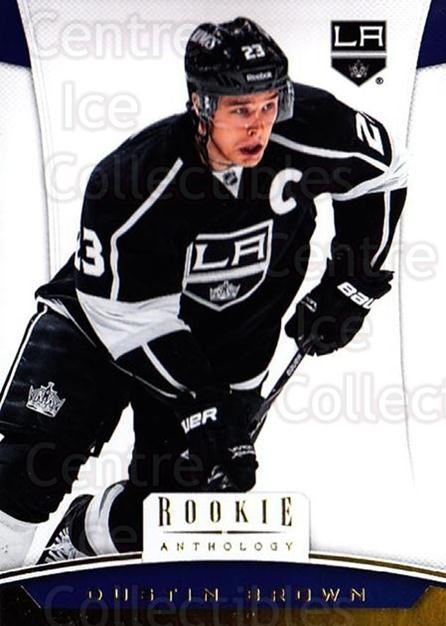 2012-13 Panini Rookie Anthology #55 Dustin Brown<br/>3 In Stock - $1.00 each - <a href=https://centericecollectibles.foxycart.com/cart?name=2012-13%20Panini%20Rookie%20Anthology%20%2355%20Dustin%20Brown...&quantity_max=3&price=$1.00&code=683137 class=foxycart> Buy it now! </a>