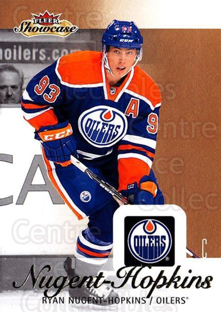 2013-14 Fleer Showcase #30 Ryan Nugent-Hopkins<br/>3 In Stock - $1.00 each - <a href=https://centericecollectibles.foxycart.com/cart?name=2013-14%20Fleer%20Showcase%20%2330%20Ryan%20Nugent-Hop...&price=$1.00&code=683260 class=foxycart> Buy it now! </a>
