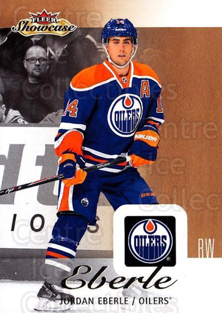 2013-14 Fleer Showcase #33 Jordan Eberle<br/>6 In Stock - $1.00 each - <a href=https://centericecollectibles.foxycart.com/cart?name=2013-14%20Fleer%20Showcase%20%2333%20Jordan%20Eberle...&quantity_max=6&price=$1.00&code=683263 class=foxycart> Buy it now! </a>