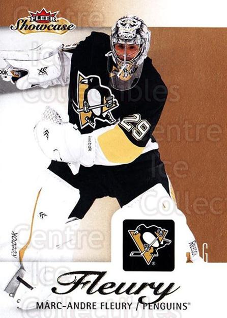 2013-14 Fleer Showcase #78 Marc-Andre Fleury<br/>6 In Stock - $2.00 each - <a href=https://centericecollectibles.foxycart.com/cart?name=2013-14%20Fleer%20Showcase%20%2378%20Marc-Andre%20Fleu...&quantity_max=6&price=$2.00&code=683308 class=foxycart> Buy it now! </a>