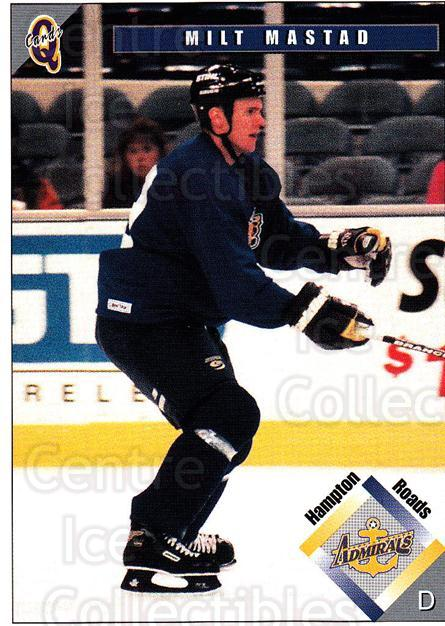 1998-99 Hampton Roads Admirals #21 Milt Mastad<br/>2 In Stock - $3.00 each - <a href=https://centericecollectibles.foxycart.com/cart?name=1998-99%20Hampton%20Roads%20Admirals%20%2321%20Milt%20Mastad...&quantity_max=2&price=$3.00&code=68334 class=foxycart> Buy it now! </a>