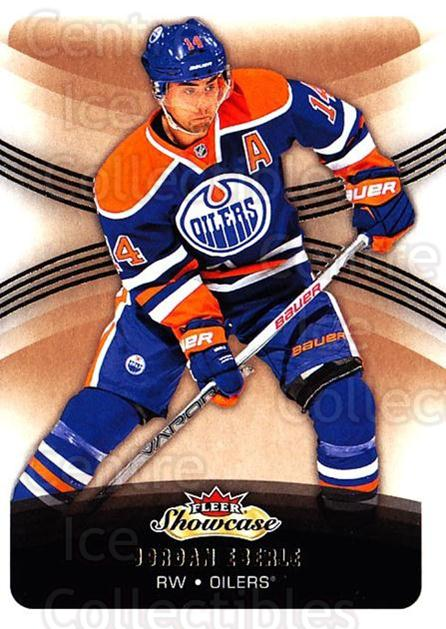 2015-16 Fleer Showcase #11 Jordan Eberle<br/>3 In Stock - $1.00 each - <a href=https://centericecollectibles.foxycart.com/cart?name=2015-16%20Fleer%20Showcase%20%2311%20Jordan%20Eberle...&quantity_max=3&price=$1.00&code=683451 class=foxycart> Buy it now! </a>