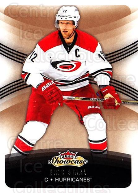 2015-16 Fleer Showcase #24 Eric Staal<br/>4 In Stock - $1.00 each - <a href=https://centericecollectibles.foxycart.com/cart?name=2015-16%20Fleer%20Showcase%20%2324%20Eric%20Staal...&quantity_max=4&price=$1.00&code=683464 class=foxycart> Buy it now! </a>