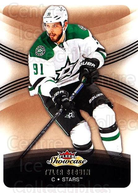2015-16 Fleer Showcase #25 Tyler Seguin<br/>3 In Stock - $1.00 each - <a href=https://centericecollectibles.foxycart.com/cart?name=2015-16%20Fleer%20Showcase%20%2325%20Tyler%20Seguin...&quantity_max=3&price=$1.00&code=683465 class=foxycart> Buy it now! </a>