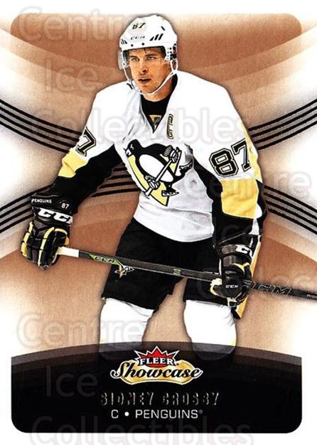2015-16 Fleer Showcase #50 Sidney Crosby<br/>3 In Stock - $3.00 each - <a href=https://centericecollectibles.foxycart.com/cart?name=2015-16%20Fleer%20Showcase%20%2350%20Sidney%20Crosby...&quantity_max=3&price=$3.00&code=683490 class=foxycart> Buy it now! </a>