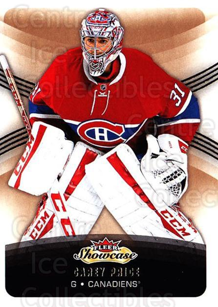 2015-16 Fleer Showcase #51 Carey Price<br/>1 In Stock - $2.00 each - <a href=https://centericecollectibles.foxycart.com/cart?name=2015-16%20Fleer%20Showcase%20%2351%20Carey%20Price...&price=$2.00&code=683491 class=foxycart> Buy it now! </a>