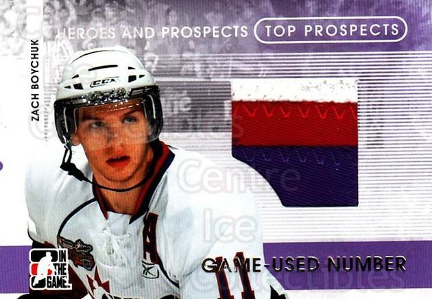 2008-09 ITG Heroes and Prospects Top Prospects Number Gold 1/1 #19 Zach Boychuk<br/>1 In Stock - $50.00 each - <a href=https://centericecollectibles.foxycart.com/cart?name=2008-09%20ITG%20Heroes%20and%20Prospects%20Top%20Prospects%20Number%20Gold%201/1%20%2319%20Zach%20Boychuk...&quantity_max=1&price=$50.00&code=683727 class=foxycart> Buy it now! </a>