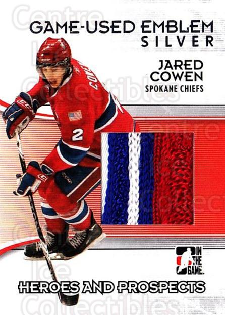 2009-10 ITG Heroes and Prospects Emblem Silver #37 Jared Cowen<br/>1 In Stock - $20.00 each - <a href=https://centericecollectibles.foxycart.com/cart?name=2009-10%20ITG%20Heroes%20and%20Prospects%20Emblem%20Silver%20%2337%20Jared%20Cowen...&quantity_max=1&price=$20.00&code=683838 class=foxycart> Buy it now! </a>