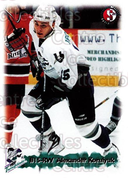 1998-99 Kentucky Thoroughblades #13 Alexander Korolyuk<br/>7 In Stock - $3.00 each - <a href=https://centericecollectibles.foxycart.com/cart?name=1998-99%20Kentucky%20Thoroughblades%20%2313%20Alexander%20Korol...&quantity_max=7&price=$3.00&code=68404 class=foxycart> Buy it now! </a>