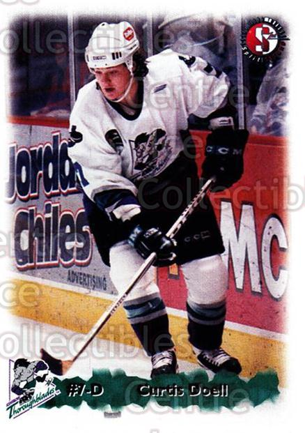 1998-99 Kentucky Thoroughblades #7 Curtis Doell<br/>9 In Stock - $3.00 each - <a href=https://centericecollectibles.foxycart.com/cart?name=1998-99%20Kentucky%20Thoroughblades%20%237%20Curtis%20Doell...&quantity_max=9&price=$3.00&code=68422 class=foxycart> Buy it now! </a>