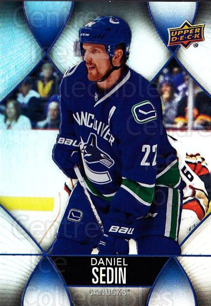 2016-17 Tim Hortons #22 Daniel Sedin<br/>5 In Stock - $1.00 each - <a href=https://centericecollectibles.foxycart.com/cart?name=2016-17%20Tim%20Hortons%20%2322%20Daniel%20Sedin...&price=$1.00&code=684392 class=foxycart> Buy it now! </a>