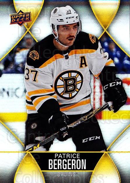 2016-17 Tim Hortons #37 Patrice Bergeron<br/>8 In Stock - $2.00 each - <a href=https://centericecollectibles.foxycart.com/cart?name=2016-17%20Tim%20Hortons%20%2337%20Patrice%20Bergero...&quantity_max=8&price=$2.00&code=684407 class=foxycart> Buy it now! </a>