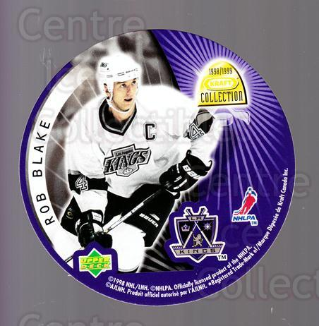 1998-99 Kraft Peanut Butter Discs #1 Rob Blake, Larry Murphy<br/>1 In Stock - $3.00 each - <a href=https://centericecollectibles.foxycart.com/cart?name=1998-99%20Kraft%20Peanut%20Butter%20Discs%20%231%20Rob%20Blake,%20Larr...&quantity_max=1&price=$3.00&code=68441 class=foxycart> Buy it now! </a>