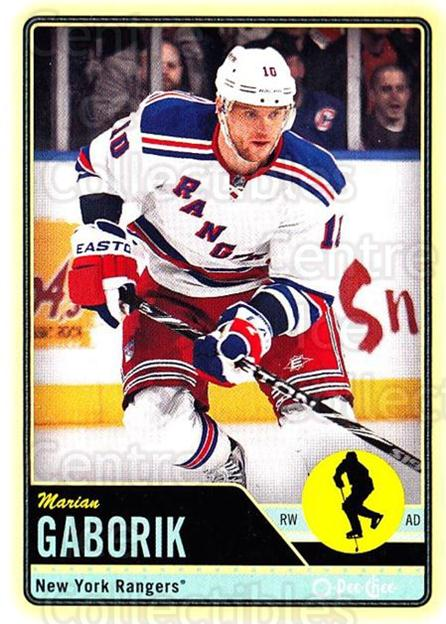 2012-13 O-pee-chee #1 Marian Gaborik<br/>2 In Stock - $1.00 each - <a href=https://centericecollectibles.foxycart.com/cart?name=2012-13%20O-pee-chee%20%231%20Marian%20Gaborik...&quantity_max=2&price=$1.00&code=684471 class=foxycart> Buy it now! </a>