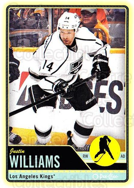 2012-13 O-pee-chee #4 Justin Williams<br/>2 In Stock - $1.00 each - <a href=https://centericecollectibles.foxycart.com/cart?name=2012-13%20O-pee-chee%20%234%20Justin%20Williams...&quantity_max=2&price=$1.00&code=684474 class=foxycart> Buy it now! </a>